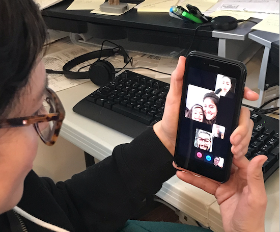 Video calls are the new norm