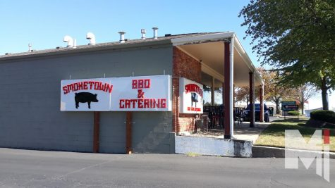 Smoketown BBQ stands on Shawnee Mission Parkway just west of Metcalf.