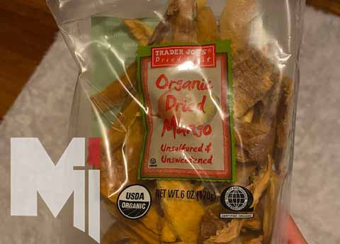 Eating dried mango is an affordable way to stay healthy during remote learning.