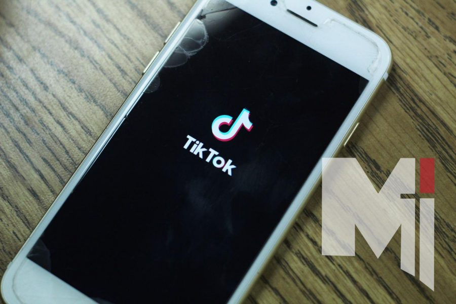 TikTok's logo appears as the app opens. TikTok currently has around 850 million users.
