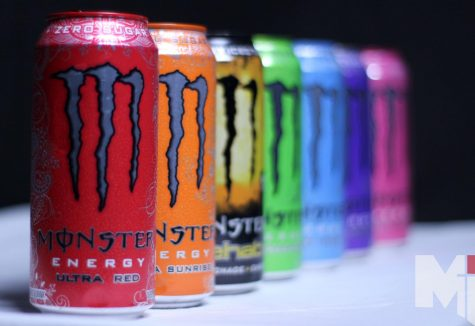 Caffeinated beverages like Monster energy drinks are a popular source of energy among students. According to a survey of Miege students, caffeine consumption varies from a few times a week to several times a day.